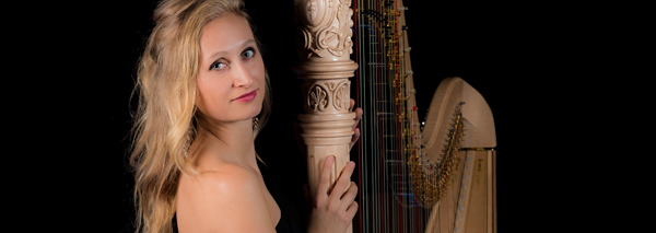 Isabel Goller, the harpist