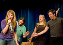 anundundpfirsich: Improvisational theatre - surprising and funny